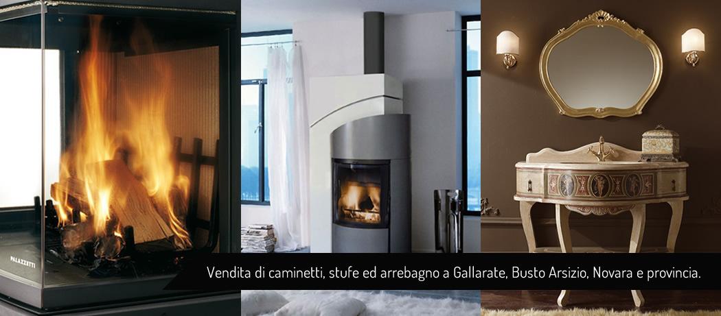 Rivolta - Caminetti Novara, stufe Novara, arredobagno Novara